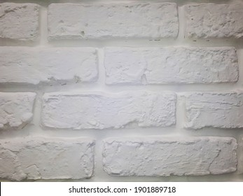 off-white brick building wall texture