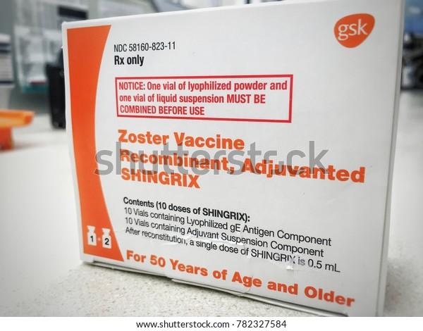 New Shingles Vaccine In 2020 Ogden Utah Usadecember 202017new Shingles Vaccination Stock Photo