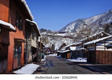 Ogimachi Village in Shirakawago, a UNESCO World Heritage Site