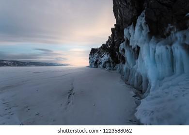 Ogoe island, lake Baikal, Russia