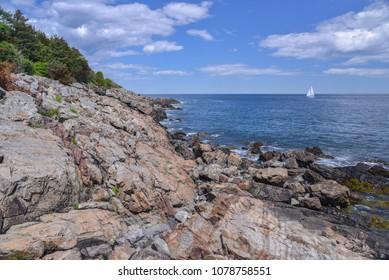 Ogunquit Maine coastline