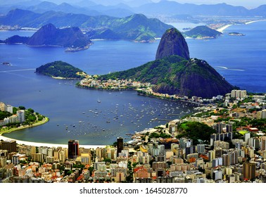 Oh, Rio! View of Rio de Janeiro from the observation deck of Mount Corcovado.