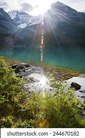 O'Hara Lake at sun rise