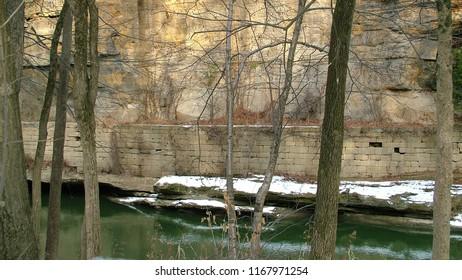 Ohio Erie Canal Winter