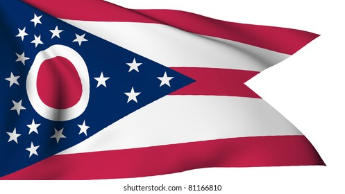 Ohio flag - USA state flags collection