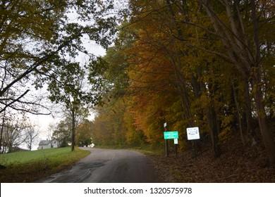 Ohio Scenic Fall Colors