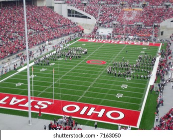 The Ohio State band does Script Ohio