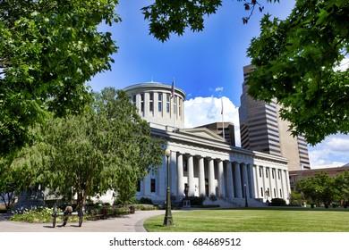 The Ohio Statehouse is located in Columbus, Ohio