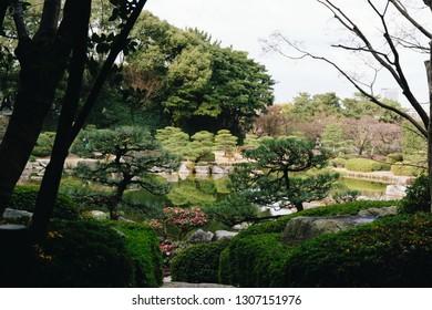 From Ohori Park in Fukuoka, Japan.