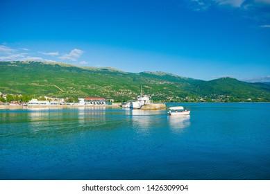 Ohrid, Lake Ohrid, Macedonia 05/11/2018