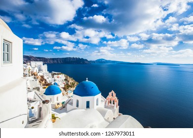 Oia City, Santorini, Greece