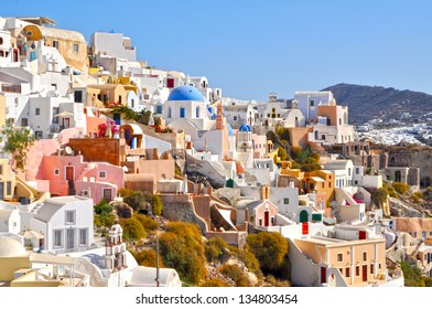 Oia city view, Santorini