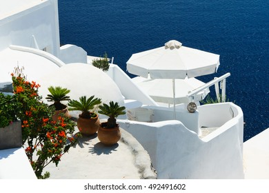 Oia is the most beautiful village on the Greek island  Santorini