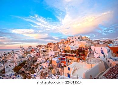 Oia Santorini, Grèce