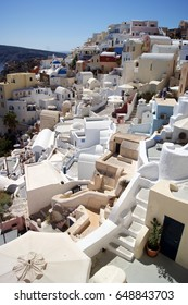 Oia, Santorini, rooftops