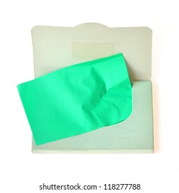 Oil absorbing (blotting) sheets to remove excess oil on oily face