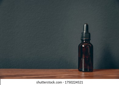 Oil for care and growth of beard, barbershop.
