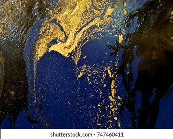 oil color painting texture surface