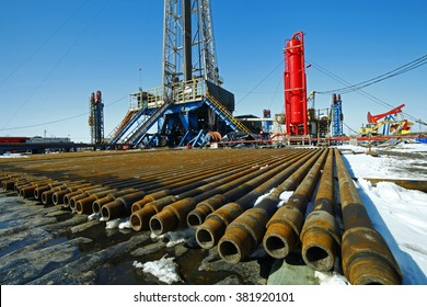 Oil drill pipe and drill