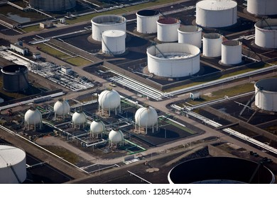 Oil drums and gas storage