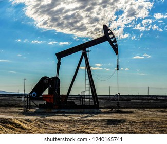 An oil extraction well in the Oman