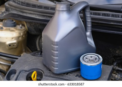 Oil filter and engine oil