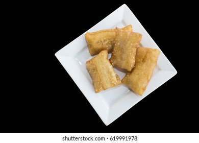 oil fried pastry, asian food