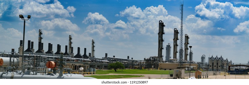Oil and Gas Gathering Facility in Eagle Ford