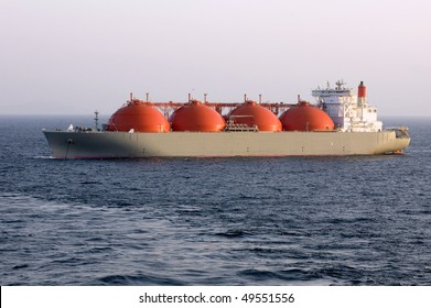 Oil and gas industry- liquefied natural gas tanker LNG