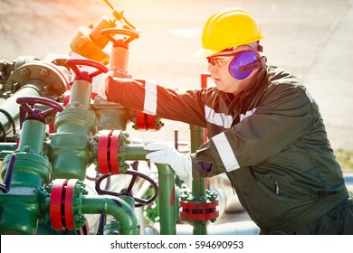 Oil and Gas Industry Worker