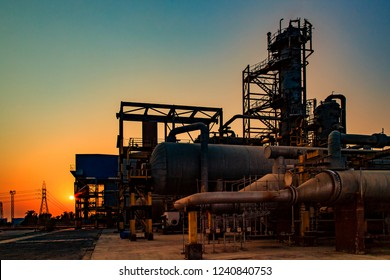 Oil and gas and petrochemical refinery