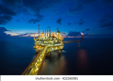 Oil and gas production platform, Petroleum  production and exploration business.