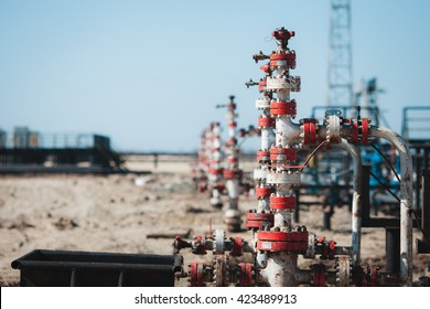 A oil and gas wells