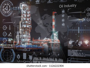 An oil industry concept