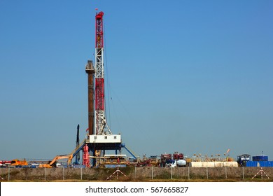 Oil industry in the field in Thailand