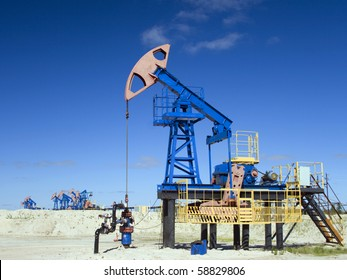 Oil industry in work