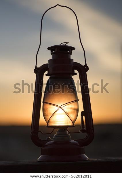Oil Lamp Sunrise