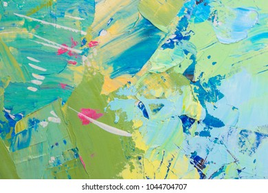 Oil paint background. Spring background. Spring texture. Abstract oil paint texture. Abstract background. Skratched background. Oil. Cover design concept.
