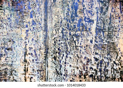 Oil painted abstract background