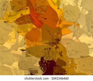 Oil painting on canvas handmade. Abstract art texture. Colorful texture. Modern artwork. Strokes of fat paint. Brushstrokes. Modern art. Contemporary art. Artistic canvas.