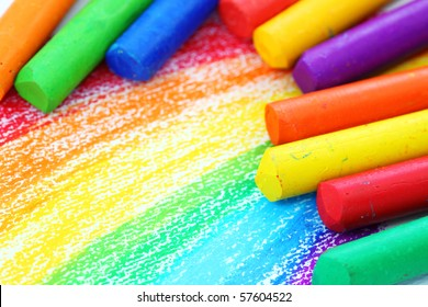 Oil Pastel Drawing Images Stock Photos Vectors Shutterstock