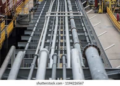 Oil pipeline construction