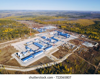 oil pipeline station