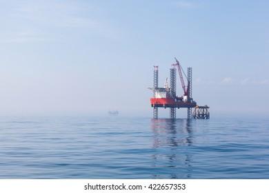 Oil platform in Canada