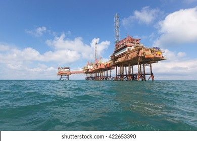 Oil platform in Norway