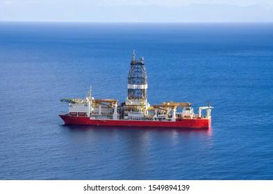 Oil platform on Tenerife Island, Spain