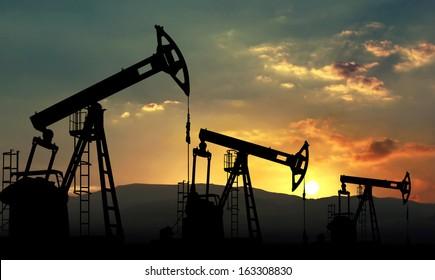 oil pump jack pumping unit