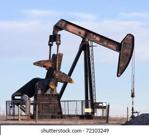 Oil Pumpjack in Colorado