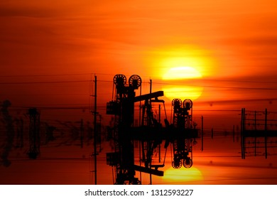 The oil refinery