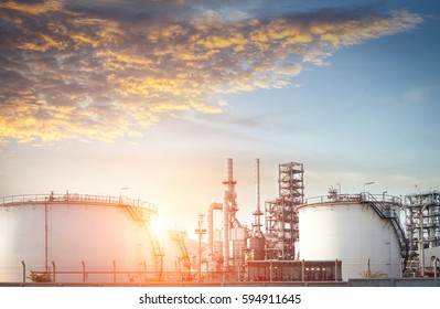 Oil refinery and Oil industry